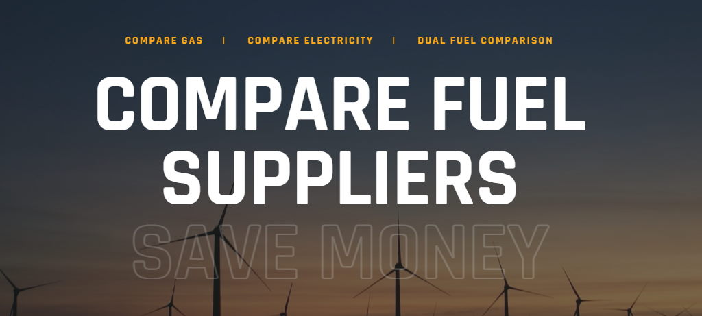 New energy comparison website